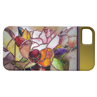 Art Glass Luxury Flower Barely There iPhone SE/5/5s Case