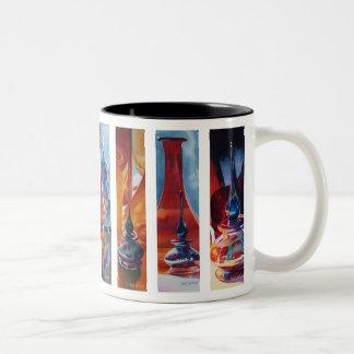 Art Glass Watercolor Menagerie Mug