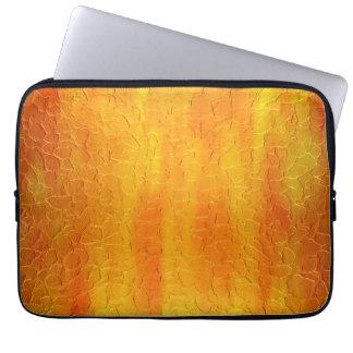 Art Gold Stainless Steel Metal 4 Laptop Sleeve