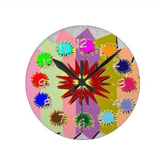Art Graphics by Navin Joshi Round Clock