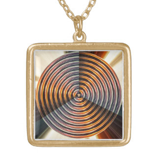 Art Graphics n photography gifts Gold Plated Necklace