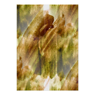 art green, brown hand paint background seamless poster