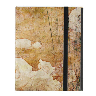 art grunge floral vintage background texture iPad folio case
