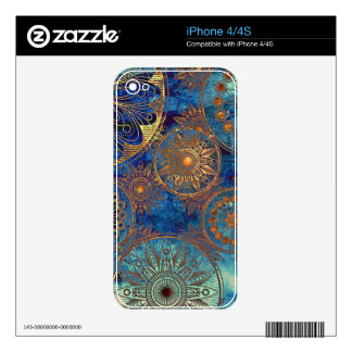 Art grunge pattern skins for iPhone 4S