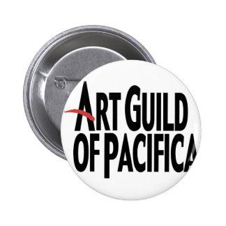 Art Guild of Pacifica Button