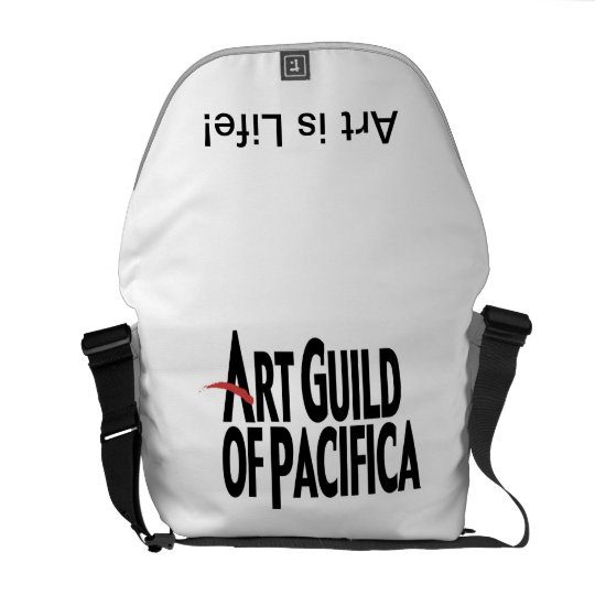 Art Guild of Pacifica Messenger Bag