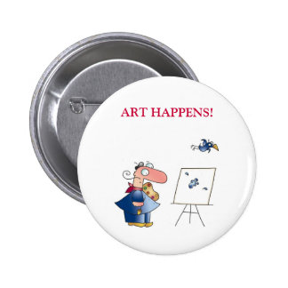 ART HAPPENS! by April McCallum Red Pins
