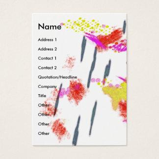 Art Happens Color Splash Business Card