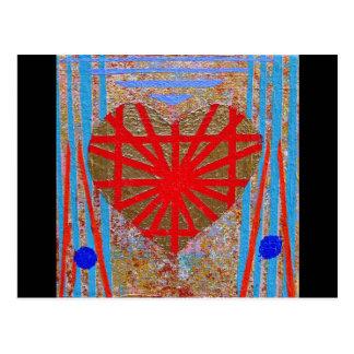 Art Heart #2 Postcard