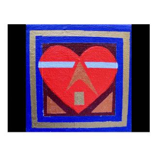 Art Heart #3 Postcard