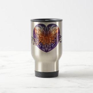 ART Heart NAMASTE Travel Mug