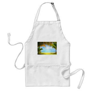 art- heavenly beach jpg aprons