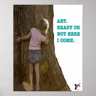 Art Hide-n-seek Print