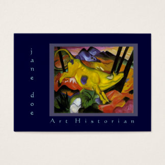 Art Historian Art Consultant Marc Two-Sided Business Card
