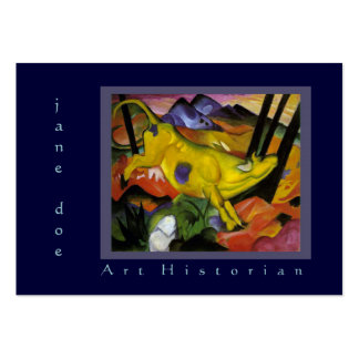 Art Historian Art Consultant Marc Two-Sided Business Cards