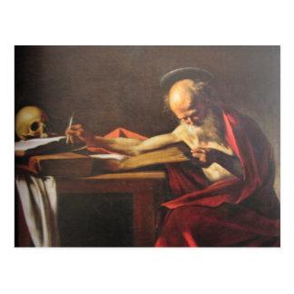 "Art ""holy Hieronymus"" - postcard"