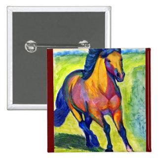 Art Horse Button