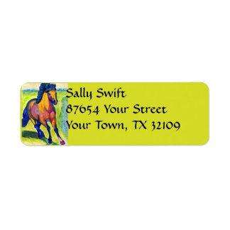 Art Horse Label