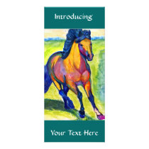 Art Horse Rack Card