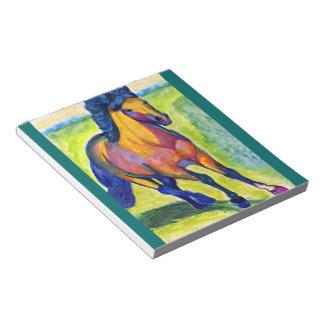 Art Horse Scratch Pads