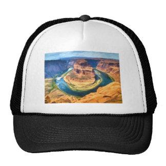 art-Horseshoe_Bend_Colorado_River Mesh Hat