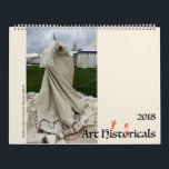 "Art Hystericals 2018 Calendar<br><div class=""desc"">The Schaeffer family of historical reenactors interpret medieval and Renaissance art,  bringing art history to life while taking ourselves *very* seriously.</div>"
