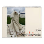 Art Hystericals 2018 Calendar<br><div class='desc'>The Schaeffer family of historical reenactors interpret medieval and Renaissance art,  bringing art history to life while taking ourselves *very* seriously.</div>