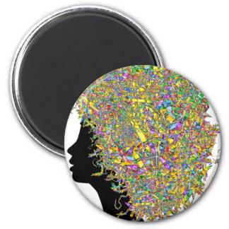 Art in my hair magnet