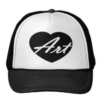 Art In My Heart Trucker Hat