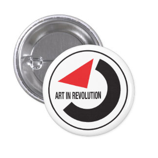 Art in revolution 1 inch round button