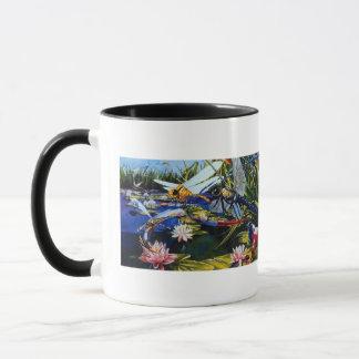 """Art in the Park"" Dragonflies Watercolor Mug"