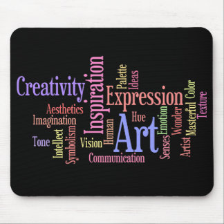 Art Inspiration Expression - Creative Person s Mousepad