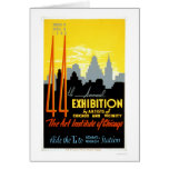 Art Institute Chicago 1940 WPA Greeting Card