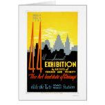 Art Institute Chicago 1940 WPA Greeting Card