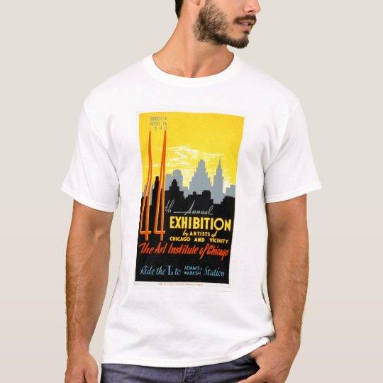 Art Institute Chicago 1940 WPA T-Shirt