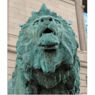 Art Institute Lion Photo Sculpture