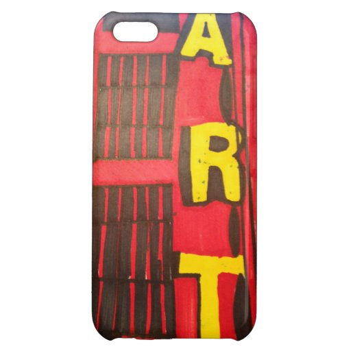 ART CASE FOR iPhone 5C