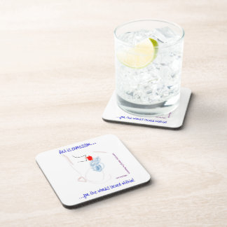 """Art is...""Autism Beverage Coaster"