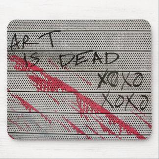 Art Is Dead Mouse Pad