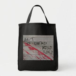 Art Is Dead XOXO XOXO Tote Bag