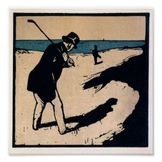 Art Is Golf And Golf Is Art - Print
