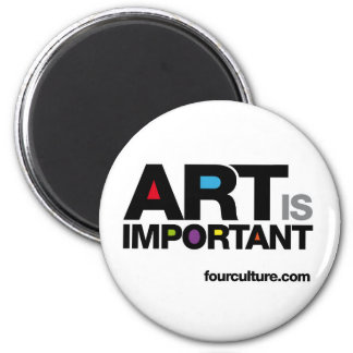 ART IS IMPORTANT magnet