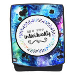 Art is Individuality Backpack
