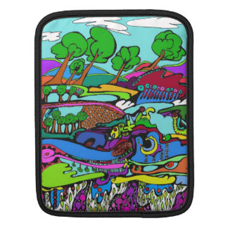 Art is life trees and wild landscApe Sleeves For iPads