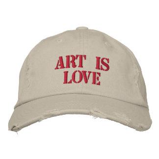 Art is Love Distressed Cap