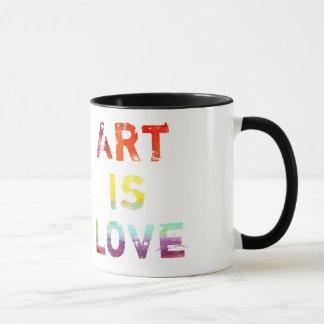 Art Is Love Mug