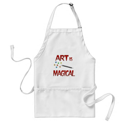 Art is Magical Adult Apron