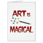 Art is Magical Greeting Card
