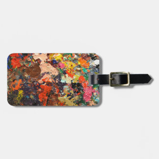 Art is Messy Luggage Tag