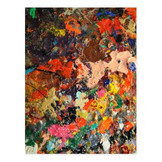 Art is Messy Postcard